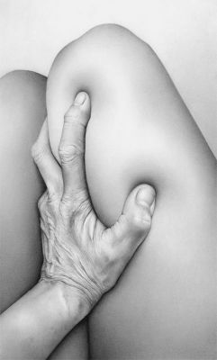 Cath Riley - flesh:  hand and knees